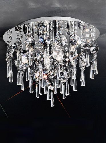 Franklite CF5716 Chrome Ceiling Light